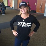 Who is she wearing? @JaclynCashman killing it in matching @HeraldRadio cap and tee at #FutureM http://t.co/cWT3Yh4eXq