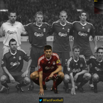 RT @8Fact_Footballl: Steven Gerrard is the only survivor in Liverpools starting XI from their last Champions League tie back in 2009. http://t.co/O8QsJM1zJ3