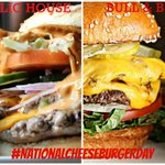 Happy #NationalCheeseburgerDay! Both @ChiPublicHouse and @BullBearBar are celebrating accordingly with $10 specials! http://t.co/kCUh2J3tW2