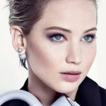 Jennifer Lawrence's new campaign for #Dior *safe for work place* @