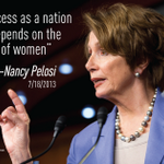 RT @amprog: @NancyPelosi speaks the truth! Hear more today at 11:30am ET at http://t.co/UxVt9KMwJg #Progress4Women http://t.co/UF4afSb61U