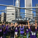 RT @WildcatWelcome: Look at #NU2018 and #NUtransfers taking over @Millennium_Park!!!! #wildcatwelcome http://t.co/kJBSN9BXIe