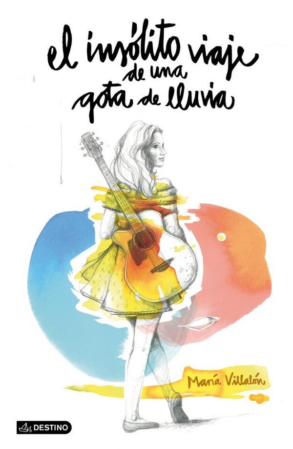"""El título del disco y de la novela es """"El insólito viaje de una gota de lluvia"""". Y esta es la portada :) http://t.co/HM64gW6w3L"""