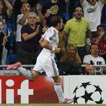 RT @realmadrid: DESCANSO: Real Madrid 4-1 Basilea (Suchy p.p.,14'; Bale,30', Ronaldo,31', James,37' / González, 25') #RealMadridBAS http://t.co/NX18JWPLQi
