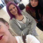 3 girls found out they were being cheated on by a guy, so they confronted him at the airport. http://t.co/eYjZ2zWNqD http://t.co/GxIggC1wk9