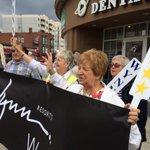 RT @sjforman138: Wynn wins in Everett and the rally has begun in Everett Sq. #wcvb #boston http://t.co/ptNbL5TMR6