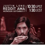 What was it like becoming beast and what made you say #WalrusYes? All good questions for tomorrow's @justinlong AMA! http://t.co/bpWrUQ1KXl