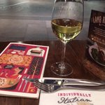 Dinner @WeAreZizzi   #victoria #londondiaries #dinnerwithself .... smtimes the only company I have is ME