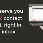 RT @HubSpot: We just launched @Sidekick at #INBOUND14! Supercharge your inbox here: http://t.co/a0JWnT9g9W #HubSpotSales http://t.co/BrmO5dQFhl