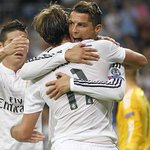 RT @realmadrid: FINAL: Real Madrid 5-1 Basilea (Suchy p.p., 14'; Bale, 30', Ronaldo, 31', James, 37', Benzema, 79' / González, 25') http://t.co/tr0lKE7v7v