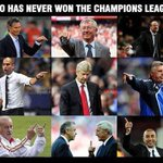 Who has never won the Champions League? http://t.co/5YGObfupqB