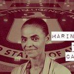 RT @Doce_Vicio: Marina Silva, candidata da CIA, pede censura nas Redes Sociais #MarinaCensura #MudaMais http://t.co/hxnaRzWvI6