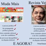 RT @Naaymarinho: A Veja faz campanha pra Marina e tudo bem. #MudaMais não pode fazer campanha pra Dilma? #MarinaCensura http://t.co/fv3mYyt4Bz @gnueverton