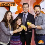Celebrating 1 year of the #OrangeRoom today! Congrats to @CarsonDaly & team! #100happydays #Day78