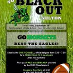 The War In North Fulton is here! Everyone wear black to the game Friday and stop by a Roswell tailgate #BeatMilton http://t.co/5HXoolc5lg