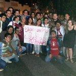 RT @EusebioCosta: Dirigentes estudiantiles de distintas casas de estudios solidarios a la espera de @SairamRivas. VIVA LA JUVENTUD http://t.co/Sxf60i2mkT