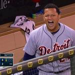 RT @detsportsnation: FSD with some great camera work here. Miggy is PUMPED!! #Tigers http://t.co/deihKMDZBs