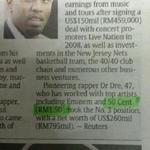 RT @bkkbase: RT @AgnesBun: Rapper 50 Cent now known as RM1.50 in Malaysia with the exchange rate applied http://t.co/g0SXAt9a4l