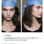 RT @samanthavicent: Behold, @CHANEL just released the worlds most expensive du-rag RT @ReaganGomez #UrbanTieCap https://t.co/oJWz4YPDYQ