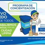#NuevoLaredo #Tamaulipas #MedioAmbiente Nuevo Laredo es de todos ¡Trabajemos juntos por una ciudad limpia! http://t.co/CydAxHy58z