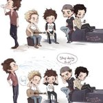 THIS IS THE CUTEST THING SOMEONE IN THE FANDOM HAS DONE #EMABiggestFans1D http://t.co/VX5frWIckY