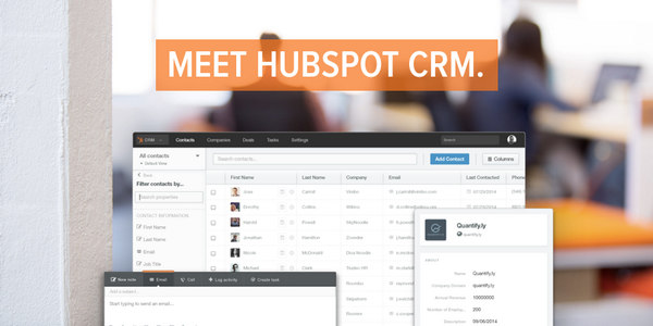 Finally, @HubSpot has a CRM! Just announced at #INBOUND14! http://t.co/h1etX7LmbH #HubSpotSales http://t.co/it3V3g4G2N