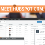 RT @repcor: Finally, @HubSpot has a CRM! Just announced at #INBOUND14! http://t.co/h1etX7LmbH #HubSpotSales http://t.co/it3V3g4G2N
