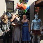 Game of Thrones! John Snow, Hodor, Khaleesi, White Walker. @jcowan_18 @MarkBlicavs @MurdochJordan http://t.co/eMKgT3oNSW