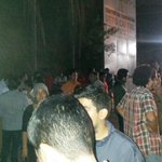Aqui estamos a las afueras del helicoide esperando que salga mi hermana @SairamRivas. Gran felicidad! http://t.co/wO4JpuxlGa