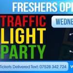 RT @GlamNightclub: FRESHERS IS HERE! ???????????? In just a few hours well be opening our doors to the Traffic Light Party! VIP: 07528 342724 http://t.co/Bx8PIjT5ga