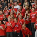 Great crowd tonight at Halenbeck for VB match between @SCSUhuskies_vb and UMD. #BHuskiesProud @NorthernSunConf http://t.co/5MOUI6oEYr