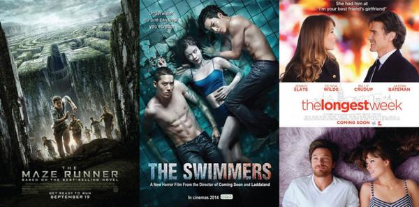 PVJ lovers!! Premiere today! The Maze Runner, The Swimmer & The Longest Week, only on @blitzmegaplex Paris Van Java http://t.co/iV9EVbHIUB