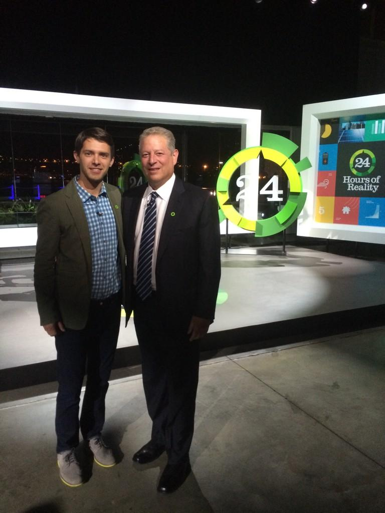 Thank you to the tireless @RyanDevlin! Great work at 24 Hours of Reality! #ClimateHope http://t.co/kKPiRxe8d1
