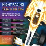 Watch the @F1NightRace from the comfort of your home. Catch the qualifying race LIVE on @MediaCorpCh5 tonight at 9pm http://t.co/wrftLDe5cG