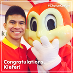 A big shout-out to Kiefer Ravena: Congratulations for winning the MVP title this season! #ChoiceKoYum http://t.co/QrZifkdb9Z