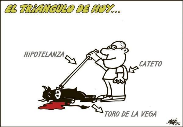 Bien ilustrado por @forges #noaltorodelavega En #España la cultura la vivimos de otra forma y no matando animales http://t.co/jfoAm0qGSr