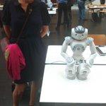RT @gwenfitam: Récréation robot #nao avant découter @gregoirerobin présenter le #Backlog, un outil Agile pendant le #medialabst http://t.co/MrNSkvYPUG