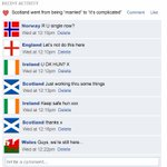 RT @ActualidadRT: La cuenta paródica de Facebook de Escocia cambiaba el estado civil http://t.co/LVkDTAtzqf http://t.co/JXQ3c3WQNc