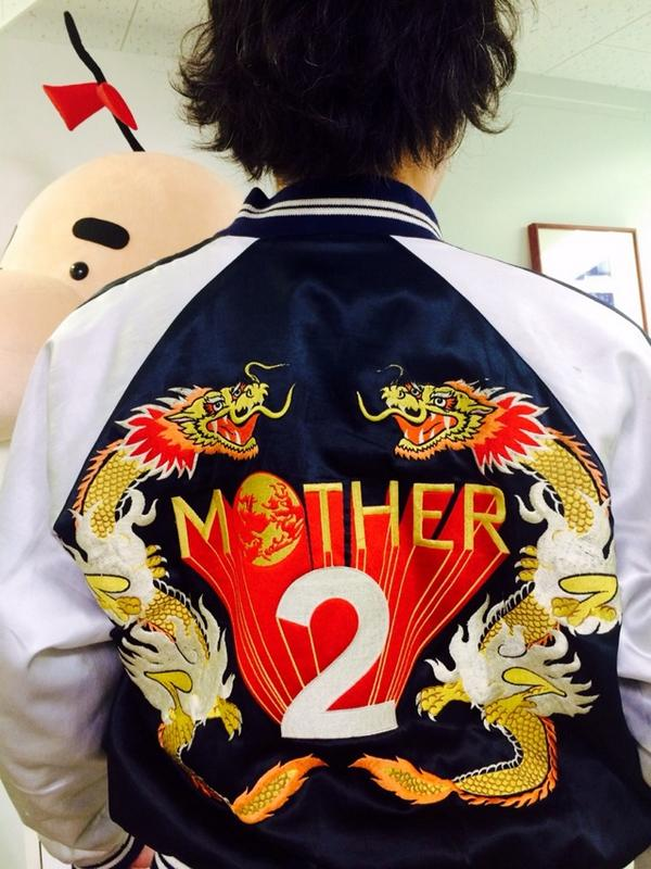 MOTHER2 Jacket!!!!!!! http://t.co/ItqHOoYUGf