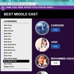 Vote and share for @MohammedAssaf89 http://t.co/0nKgT8ahm3 صوت وانشر الرابط للتصويت http://t.co/afpSL9SCXn
