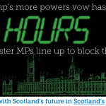 """RT @YesScotland: The No campaign """"vow"""" on powers didnt last 24 hours #indyref #voteYes http://t.co/RaE2mDGK4p"""