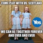 RT @JamesMcLeary: Come play with us #Scotland - forever #indyref #VoteYes #NoTories http://t.co/AacpOa0wZR