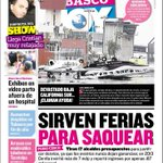 HOY en portada de @TabascoHOY: Sirven ferias para saquear. Tiran 17 alcaldes presupuestos para justificar desvíos http://t.co/rxGua1C3bM