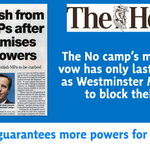 Theres only ONE way to guarantee Scotland gets the powers we need: Vote YES http://t.co/vi5hIIlf83 #indyref http://t.co/4pv9V5S2p5