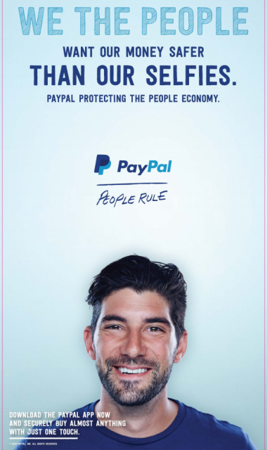 PayPal is clearly unimpressed with Apple Pay: http://t.co/uWEBszwZxW http://t.co/booHtWs4zQ
