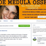 RT @g1: Amigas buscam no Facebook doador de medula para jovem com leucemia no PR http://t.co/5cU8GAgqF6 #G1 http://t.co/aayHrOSRSp