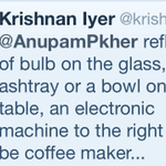 Pic Quiz: Photograph of d right answer. Congrats Mr.Iyer. Pls write to Herman@anupamkhercompany.com for d book.:)