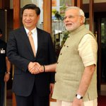 RT @MIB_India: Prime Minister Shri @narendramodi welcoming the Chinese President, Mr. Xi Jinping in Ahmedabad. http://t.co/sX1W9BWpyi
