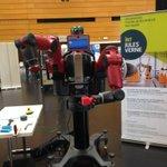 RT @IRTJulesVerne: #Robot #baxter en action dans le cadre de #NantesDigitalWeek #roboticday http://t.co/ZN9rm9yDtC