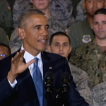 RT @NBCNightlyNews: 'I will not commit you to fighting another ground war in Iraq' – Pres. Obama to U.S. troops http://t.co/cGledJJShq